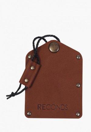 Ключница Reconds. Цвет: коричневый