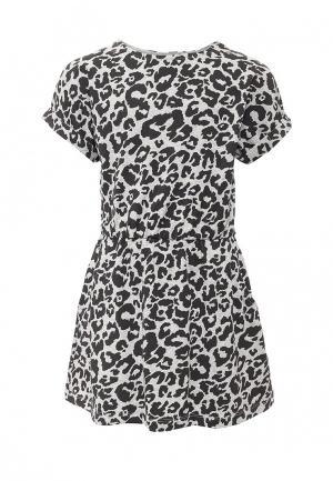 Платье Little Pieces. Цвет: черно-белый