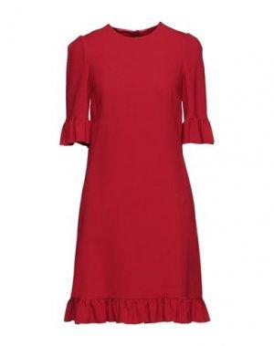 Короткое платье DOLCE & GABBANA. Цвет: красный