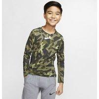 Свитшот с принтом для тренинга мальчиков школьного возраста Nike Pro Warm