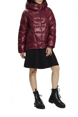 Куртка D`imma. Цвет: брусничный