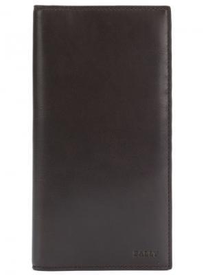 Бумажник Toliver Bally. Цвет: коричневый