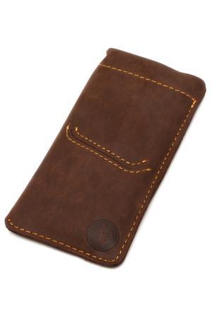 Чехол для телефона PELLECON. Цвет: коричневый