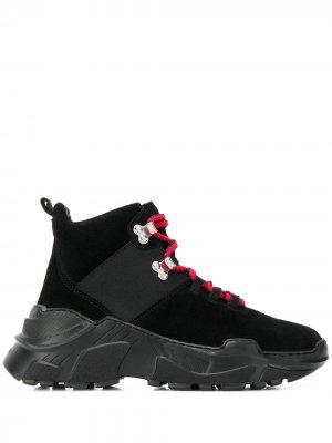 Ботинки на шнуровке Sonia Rykiel. Цвет: черный