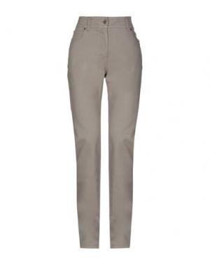 Джинсовые брюки ALVIERO MARTINI 1a CLASSE. Цвет: хаки