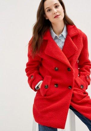 Шуба Grand Style. Цвет: красный