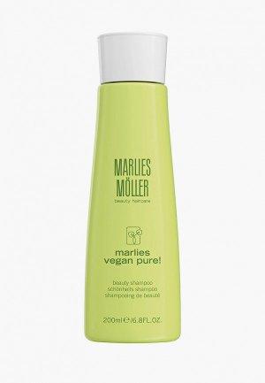 Шампунь Marlies Moller для красоты волос VEGAN PURE, 200 мл. Цвет: прозрачный
