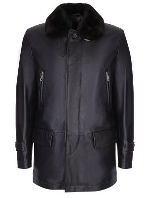 Куртка кожаная BRIONI