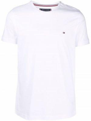 Logo cotton T-shirt Tommy Hilfiger. Цвет: белый