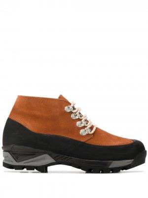 Высокие кроссовки Diemme. Цвет: оранжевый