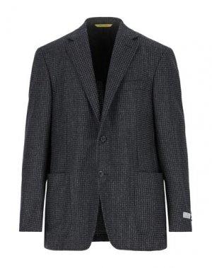 Пиджак CANALI. Цвет: стальной серый