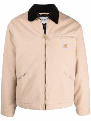 Куртка Original Detroit Carhartt WIP. Цвет: коричневый