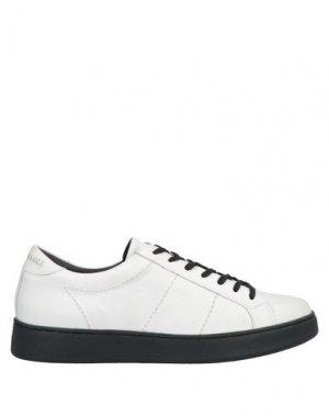 Низкие кеды и кроссовки BRUNO MAGLI. Цвет: белый