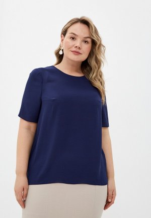Блуза Forus. Цвет: синий