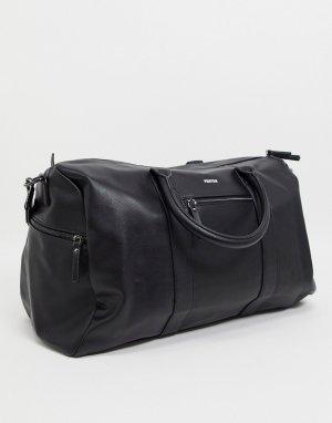 Черная спортивная сумка -Черный цвет Fenton