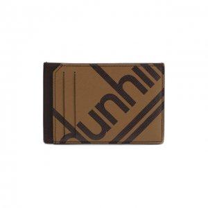 Футляр для кредитных карт Dunhill. Цвет: коричневый