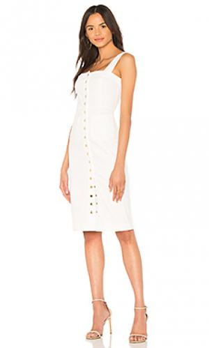 Платье candace Clayton. Цвет: белый