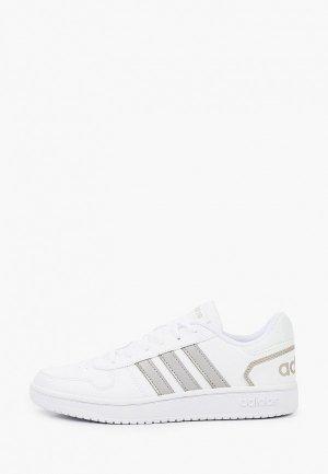 Кеды adidas HOOPS 2.0. Цвет: белый