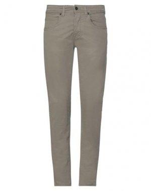 Повседневные брюки HAMAKI-HO. Цвет: шалфейно-зелёный