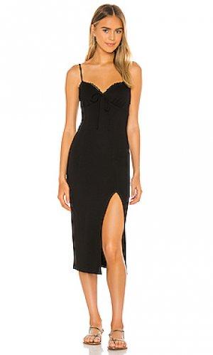 Платье janelle Privacy Please. Цвет: черный