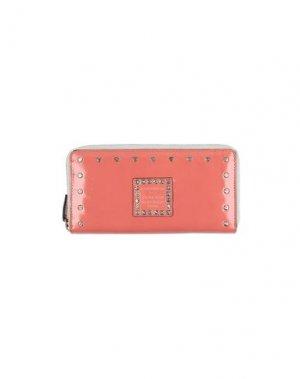 Бумажник CAMPOMAGGI. Цвет: коралловый