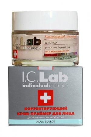 Корректирующий крем-праймер I.C.LAB INDIVIDUAL COSMETIC. Цвет: серебристый