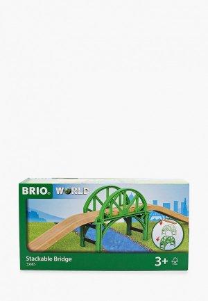 Конструктор Brio Арочный мост с возможностью наращивания,4 эл. Цвет: разноцветный