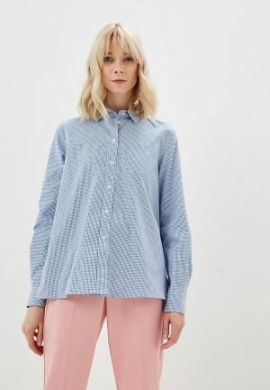 Рубашка Weekend Max Mara. Цвет: голубой