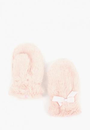 Варежки Modis. Цвет: розовый