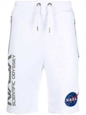 Спортивные шорты Scientific Odyssey Alpha Industries. Цвет: белый