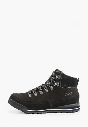 Ботинки CMP HEKA WP. Цвет: черный
