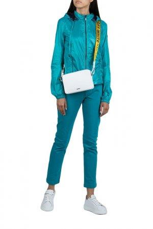 Ветровка Armani Jeans. Цвет: бирюзовый
