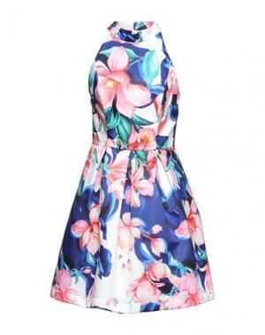 Короткое платье FRACOMINA. Цвет: розовый