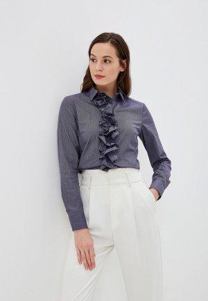 Блуза Colletto Bianco. Цвет: фиолетовый