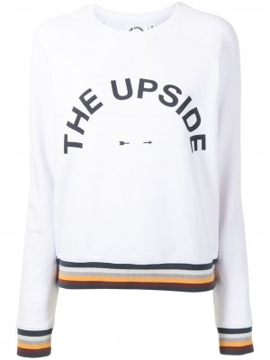 Толстовка Bondi с логотипом The Upside. Цвет: белый