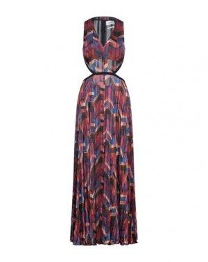 Длинное платье BA&SH. Цвет: красно-коричневый