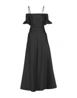 Длинное платье CARVEN. Цвет: черный