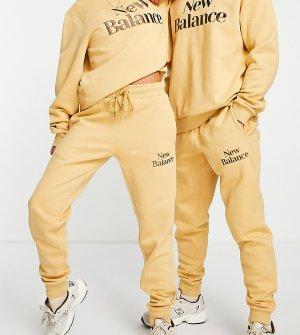 Светло-коричневые джоггеры Cookie-Коричневый цвет New Balance