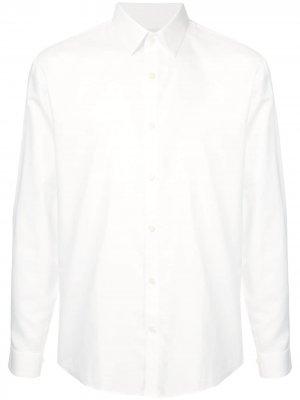 Рубашка с заостренным воротником Cerruti 1881. Цвет: белый