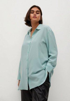 Блуза Violeta by Mango - SEDERA. Цвет: голубой