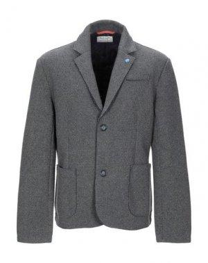 Пиджак FRED MELLO. Цвет: свинцово-серый