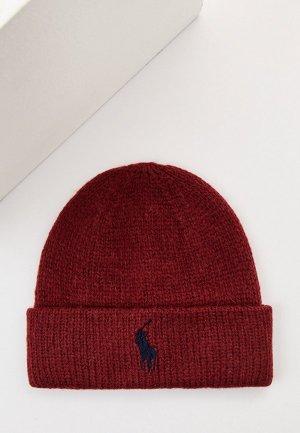 Шапка Polo Ralph Lauren. Цвет: бордовый