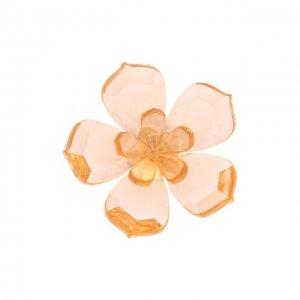 Магнит Magnolia Swarovski. Цвет: оранжевый