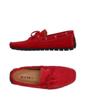 Мокасины AT.P.CO. Цвет: красный