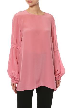 Блуза Max Mara Sportmax. Цвет: розовый