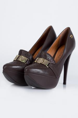 Туфли CRISTOFOLI. Цвет: коричневый