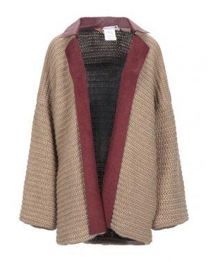 Легкое пальто PIANURASTUDIO. Цвет: песочный