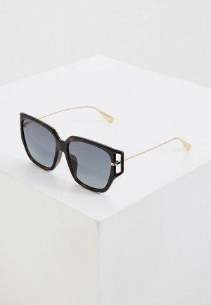 Очки солнцезащитные Christian Dior DIORDIRECTION3F 086. Цвет: коричневый