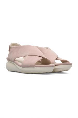 Туфли открытые CAMPER. Цвет: розовый