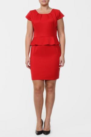 Платье Анора. Цвет: красный